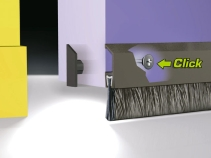 Türbodendichtungen aus Aluminium