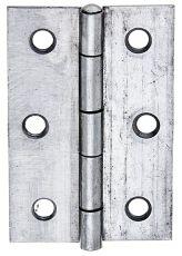Edelstahl-Scharnier VA halbbreit 63 x 43mm