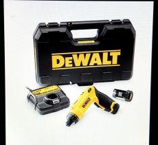 Akku Knickschrauber DEWALT DCF680G2; Li-Ion 7,2 Volt / 1,0 Ah