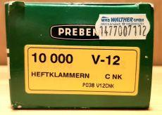 Heftklammer Prebena V-12 CNK verzinkt 10000 Stück/ Pack