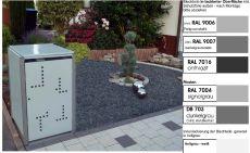 1er Müllbox 240 Ltr / Klappdach MB-240-1-D Grundversion