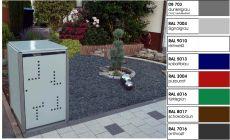 1er Müllbox 240 Ltr Klappdach MB-240-1-D Version II