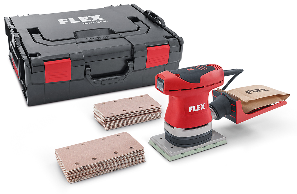 flex ose 80 2 set schwingschleifer mit drehzahlregelung im set. Black Bedroom Furniture Sets. Home Design Ideas