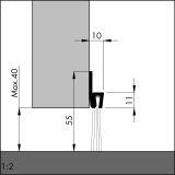 IBS POG 55 Mähnenhaar