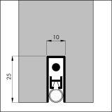 Automatische Türbodendichtung ELLEN-MATIC EXTRA*