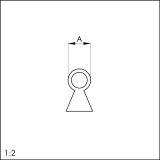 Silikon-Einfräsdichtungen 103 Schwalbenschwanz