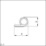 Selbstklebende Silikondichtung 10107T