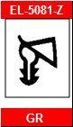 Dichtungsprofil für Stahlzargen 5081-Z