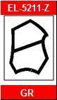 Dichtungsprofil für Stahlzargen 5211-Z