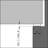 Ellenflex I Profil DAUERHAFTER SCHAUM weiß - 7,5 m VE: 1
