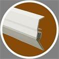 Türbodendichtung Kunststoff PDS BASIC, weiß 100 cm VE: 1 Stück