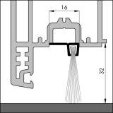 IBS 90-32, alu-werkblank, 300 cm, VE: 1