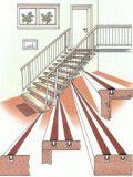 Treppenprofile (Gleitschutzprofile) L2979, schwarz 10 m, VE 1 Karton