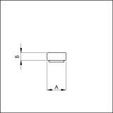 VORLEGEBAND selbstklebend 8x3mm weiss VE: 1 10x20 m Rolle