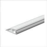 AKW Türanschlagschiene silber eloxiert, 100 cm, VE 1