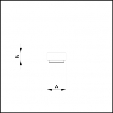 VORLEGEBAND selbstklebend 20x4mm anthrazit VE:1, 10x20 m Rolle