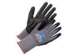KORSAR Nitril-Handschuh Kori-Nox grau-schwarz 12 Paar, Größe 7 bis 11