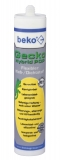 Flexibler 1-Komponenten Kleb-/Dichtstoff Gecko Hybrid PoP 310 ml Farbe weiss