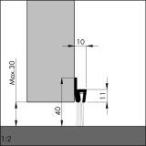 IBS 40 Rosshaar