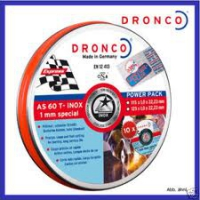+++AKTION+++ Dronco 1 mm inox special 125 mm